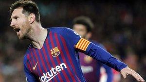 Messi sentenció la Liga con un toque sutil