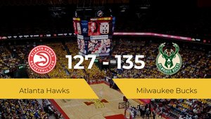 Milwaukee Bucks consigue derrotar a Atlanta Hawks en el State Farm Arena (127-135)
