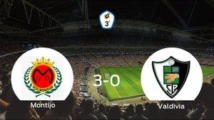 El Montijo consigue los tres puntos en casa tras pasar por encima al Valdivia (3-0)