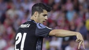 Morata, en el punto de mira del Milan