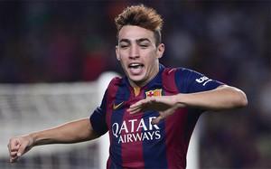 Munir ha protagonizado un debut histórico en el Camp Nou