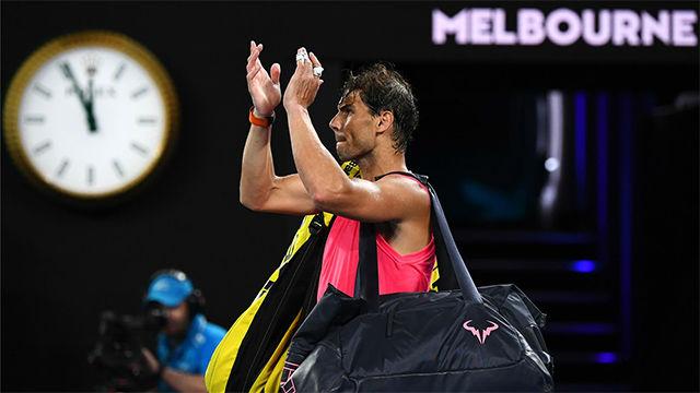 Nadal pierde ante Thiem y se despide del Open de Australia