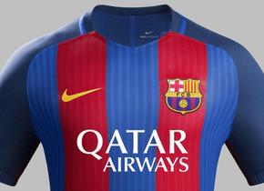 El rompecabezas del patrocinador  cómo cuadrar NIke y Qatar Airways. La  nueva versión de la camiseta del FC Barcelona 2016 17 3cc97ad80af