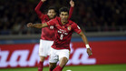 Paulinho, jugador del Guangzhou Evergrande de la Super League de China