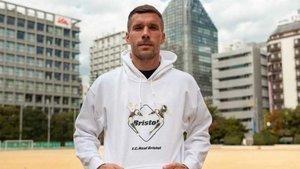 Podolski cuenta con una gran trayectoria en el fútbol europeo