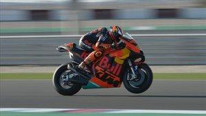 Pol Espargaró acoplado al máximo a su KTM
