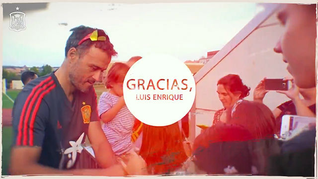 Por todo... Gracias, Luis Enrique