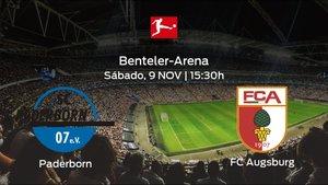 Previa del partido de la jornada 11: Paderborn contra FC Augsburg