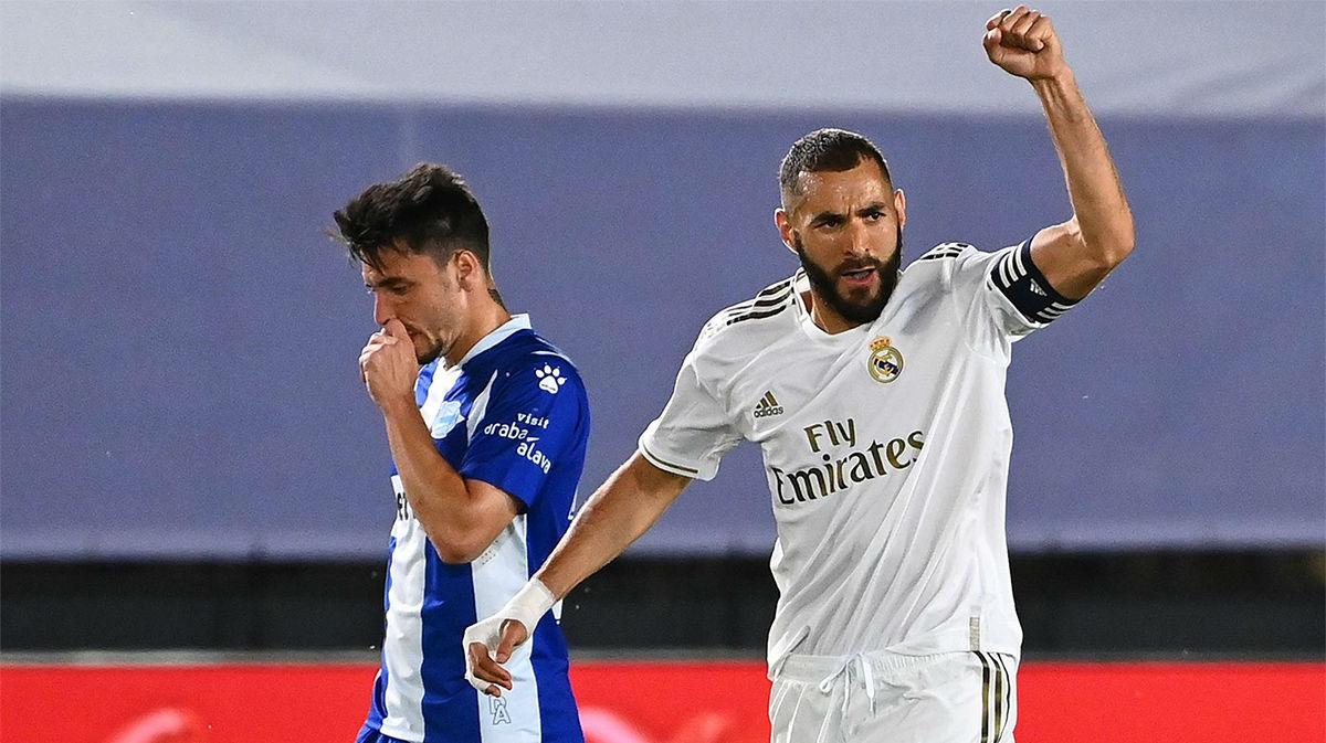 El Real Madrid se adelantó de penalti con Benzema: da igual cuando lo leas