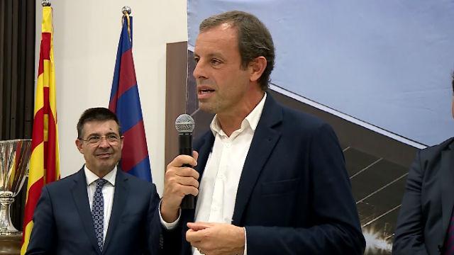 Rosell: Uno de los momentos de libertad en la cárcel era cuando escuchaba al Barça
