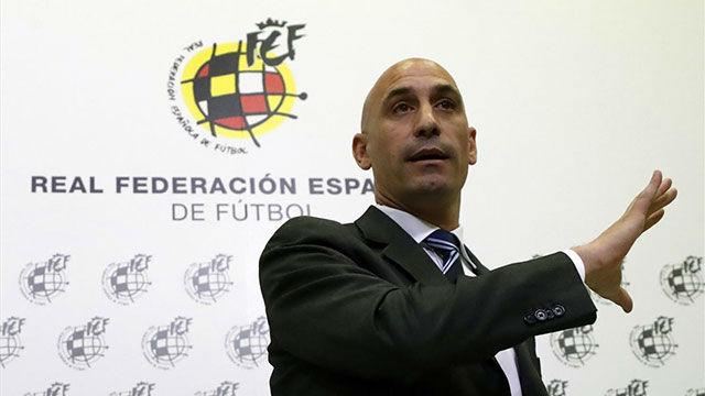 Rubiales anunció que Luis Enrique será el nuevo seleccionador