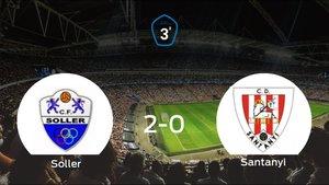 El Soller consigue la victoria en casa frente al Santanyi (2-0)