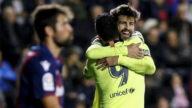 La tremenda arrancada de Piqué desde su área hasta marcar el gol de la manita del Barça