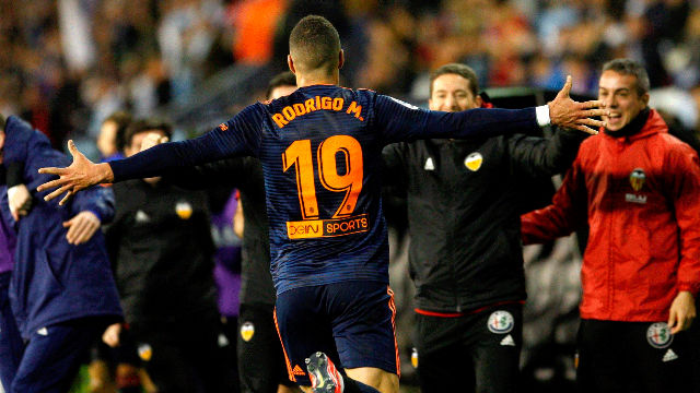 El Valencia asalta Balaídos