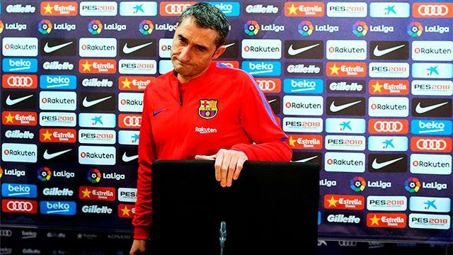 Valverde se mostró rotundo con la idea de haber jugado hoy