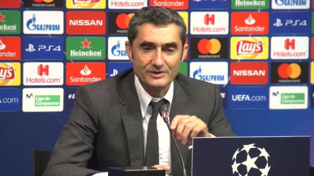 Valverde: Necesitábamos dar un paso al frente sin Messi