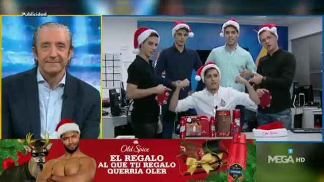 El villancico masculino de El Chiringuito que se ha vuelto viral