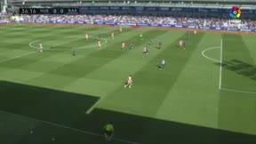 Wagué debutó ante el Huesca con un buen partido