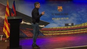 Xavi Roca podría incorporarse al fútbol base del Barça