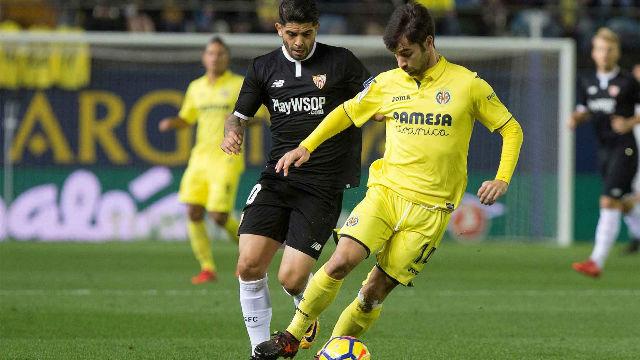 Laliga Villarreal Sevilla