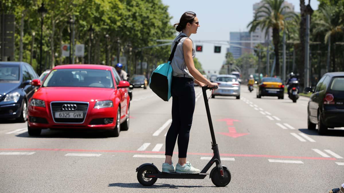 Los patinetes eléctricos se apoderan de las calles de Barcelona