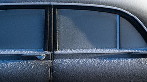 Aparición de hielo en el coche.