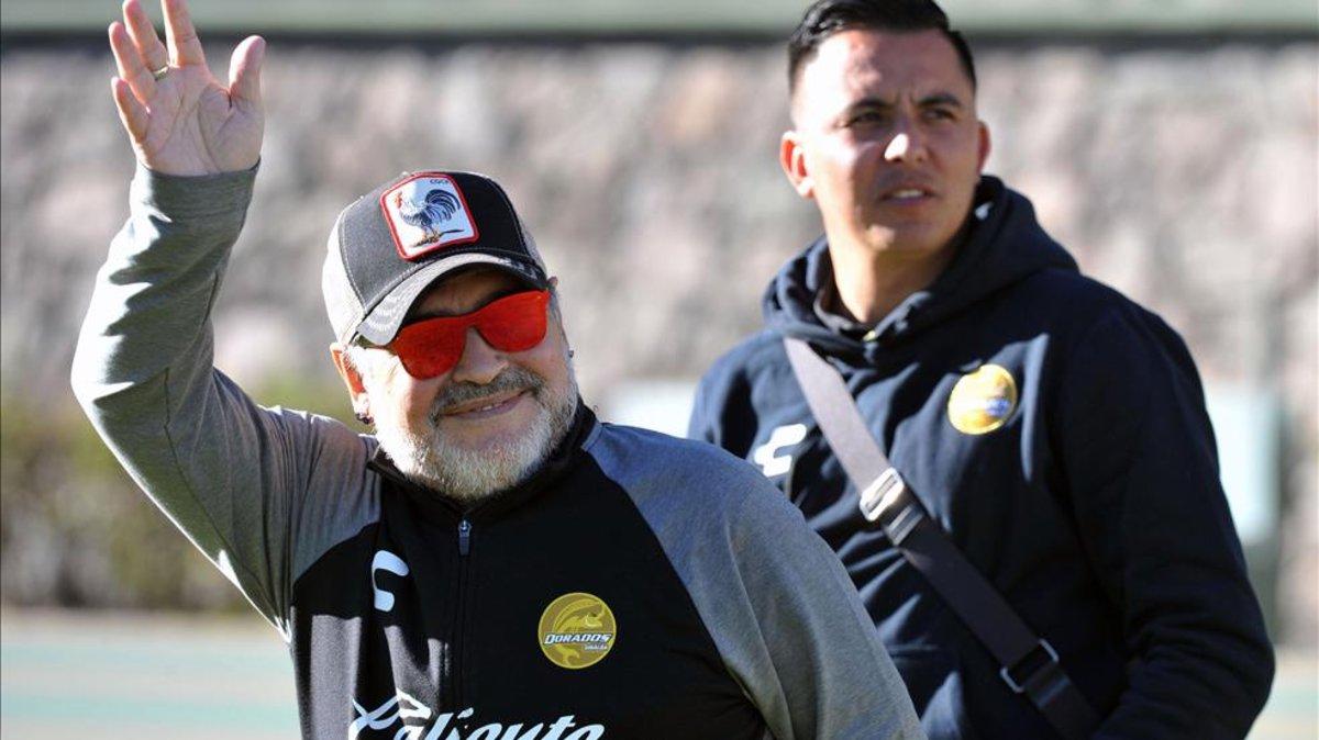 Diego Maradona prefiere al Dorados que a la selección de Argentina 3dc80ce6d0e8f