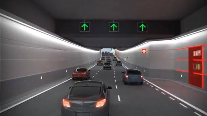 Proyecto de los túneles de la plaza de las Glòries de Barcelona
