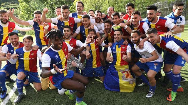La presencia de Piqué en las gradas no le valió al Andorra