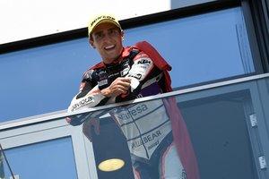 Albert Arenas, líder del Mundial de Moto3