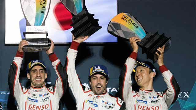 Alonso reforzó su liderato en el WEC al ganar las 1.000 Millas de Sebring