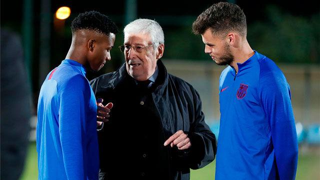 Ansu Fati: Marcar contra Osasuna y el Valencia fue todo un sueño