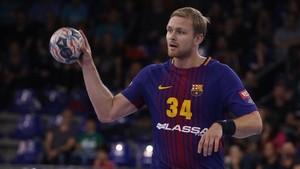 Aron Palmarsson impidió que el Barça se dejase puntos en Valladolid