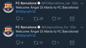 El Barça fue pirateado en Twitter