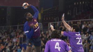 El Barça ganó de nuevo la Liga Asobal tras un gran partido en el Palau