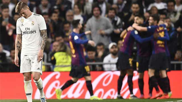 El Barcelona está cómodo en el Camp Bernabéu