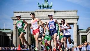Bonitas imágenes de la maratón de Berlín