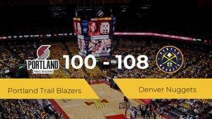Denver Nuggets gana su primer partido de la NBA ante Portland Trail Blazers por 100-108