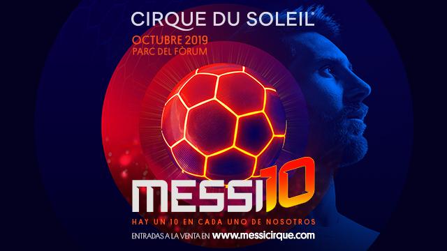 El espectáculo de Messi en el Cirque Du Soleil (ES)