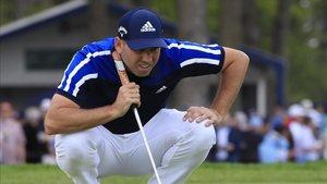No estuvo fino el primer día de torneo Sergio García.
