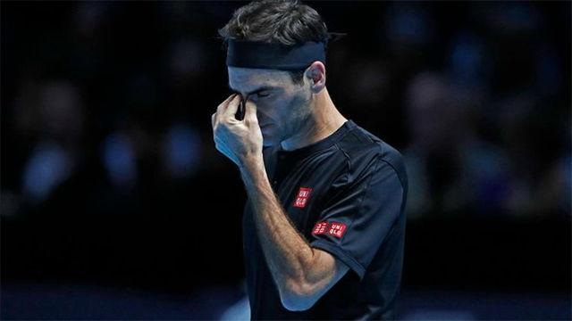 Federer cae ante Thiem (7-5, 7-5)