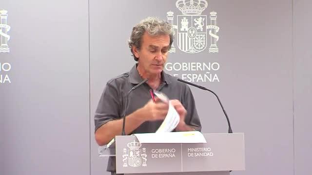 Fernando Simón explica que el incremento de contagios por coronavirus afecta en gran medida a los menores de 50 años