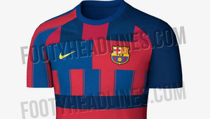 in stock 93180 6d2dd Photos: Barcelona's potential 2019-20 kit leaked