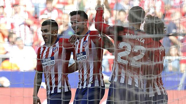 Un gol en propia del Valladolid le da la victoria al Atlético