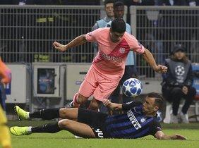Inter Milan, 1 - FC Barcelona, 1