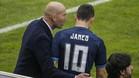 James ya no se toma en serio a Zidane