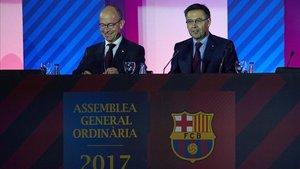 Jordi Cardoner y Josep María Bartomeu