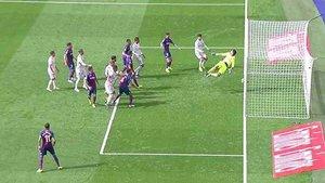La jugada del Real Madrid que ha sido anulada