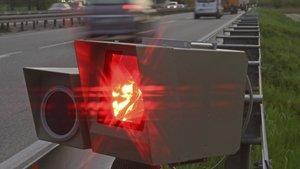 Las multas por exceso de velocidad tardan unas semanas en llegar.