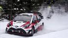 Latvala manda en el Rally de Suecia